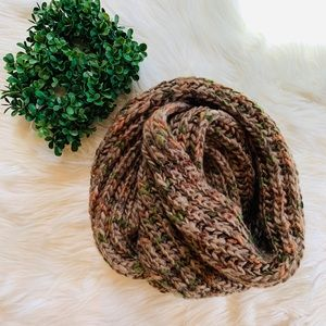 Super soft infinity sweater knit scarf